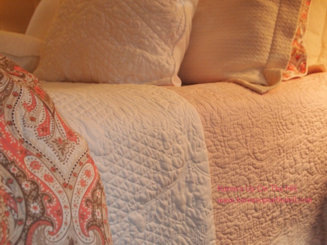 Layers of bedding