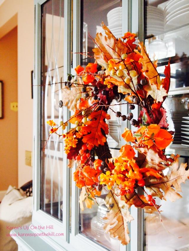 fall wreath _ fall decor